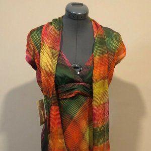 BCBG Maxazria Chiffon Dress Size 6